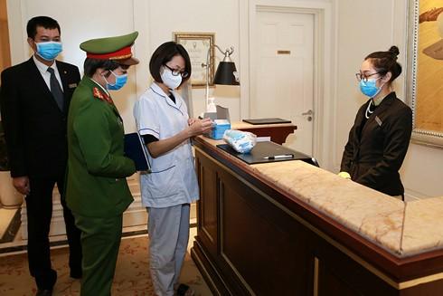 Công an Hà Nội tăng cường rà soát kiểm tra các chung cư trên địa bàn nhằm phòng, chống dịch Covid-19