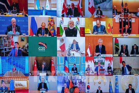 Hội nghị trực tuyến G-20 khẳng định cam kết phối hợp toàn cầu ngăn chặn Covid-19