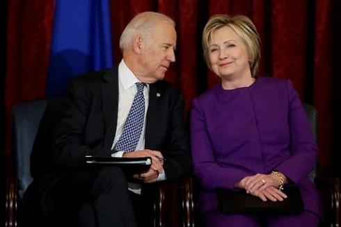 Cựu Ngoại trưởng Mỹ Hilary Clinton công khai ủng hộ ông Joe Biden trong cuộc đua vào Nhà Trắng
