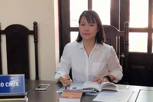 Luật sư Lê Hồng Vân (Đoàn Luật sư Hà Nội)