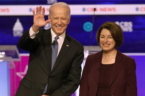 Bà Amy Klobuchar được đánh giá là một ứng viên tiềm năng đồng hành cũng ông Joe Biden trong cuộc bầu cử năm nay