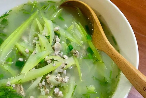 Thanh mát món ăn mùa hè chế biến từ hến