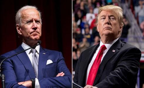Ông Joe Biden hiện đang dẫn trước ông Donald Trump về số phiếu ủng hộ