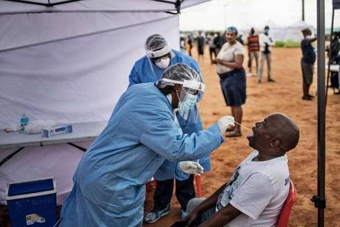 Số ca nhiễm virus SARS-CoV-2 mới tăng mạnh tại châu Phi