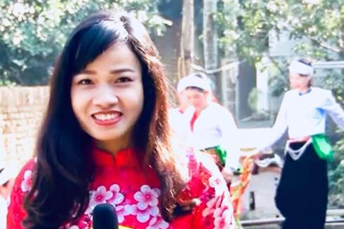 Nhà báo Chu Hương