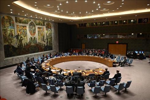 Toàn cảnh một cuộc họp Hội đồng Bảo an Liên hợp quốc tại New York, Mỹ