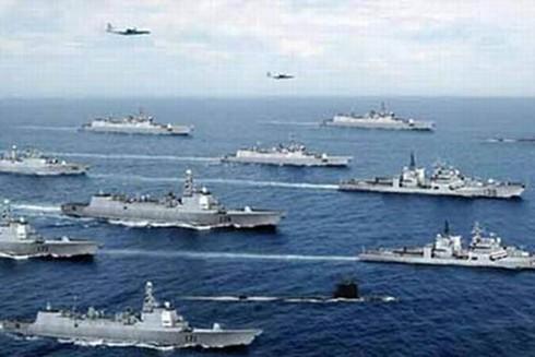 Trung Quốc thời gian qua liên tục tổ chức các cuộc tập trận ở Biển Đông trong toan tính ráo riết quân sự hóa vùng biển này