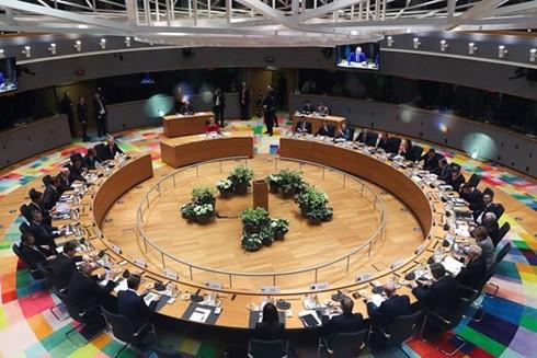 Các nhà lãnh đạo châu Âu họp thượng đỉnh tại Brussels, Bỉ