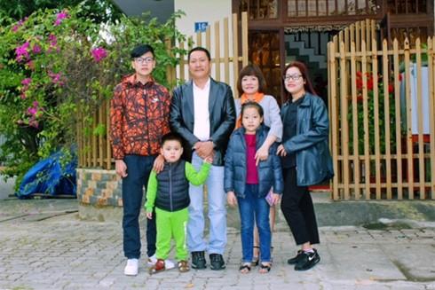 NSƯT Hoàng Hải cho rằng, anh là người giàu có bởi anh có tất cả: một gia đình hạnh phúc và được sống với đam mê