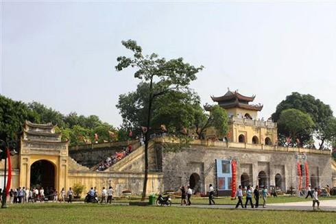 Hoàng thành Thăng Long - quần thể di tích gắn với lịch sử kinh thành Thăng Long - Hà Nội là điểm đến không thể bỏ qua khi du lịch Hà Nội
