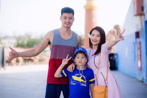 Diễn viên Bảo Thanh và chồng con