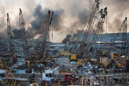 Lebanon tuyên bố tình trạng khẩn cấp sau vụ nổ hóa học kinh hoàng ảnh 1