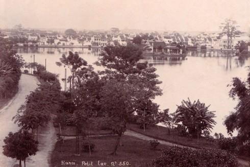 Hồ Hoàn Kiếm thời kỳ 1890