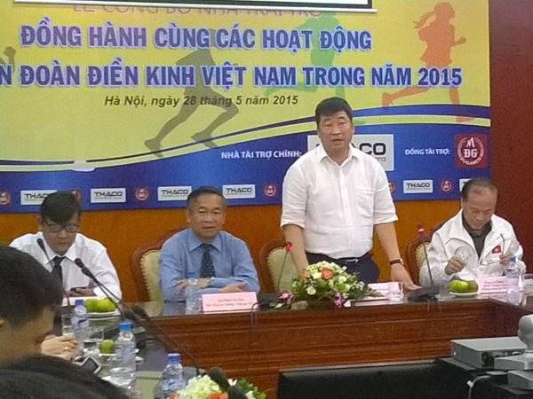 Tiếp sức cho điền kinh Việt Nam trước thềm SEA Games 28 ảnh 1