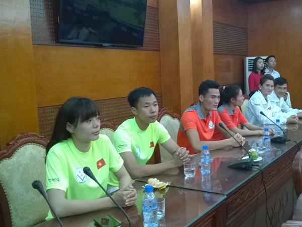 Tiếp sức cho điền kinh Việt Nam trước thềm SEA Games 28 ảnh 3