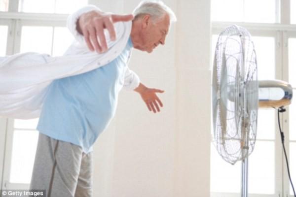 Người già không nên sử dụng quạt điện