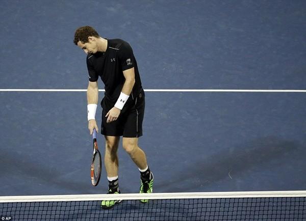 Andy Murray bị loại trước ngưỡng cửa tứ kết của Mỹ mở rộng
