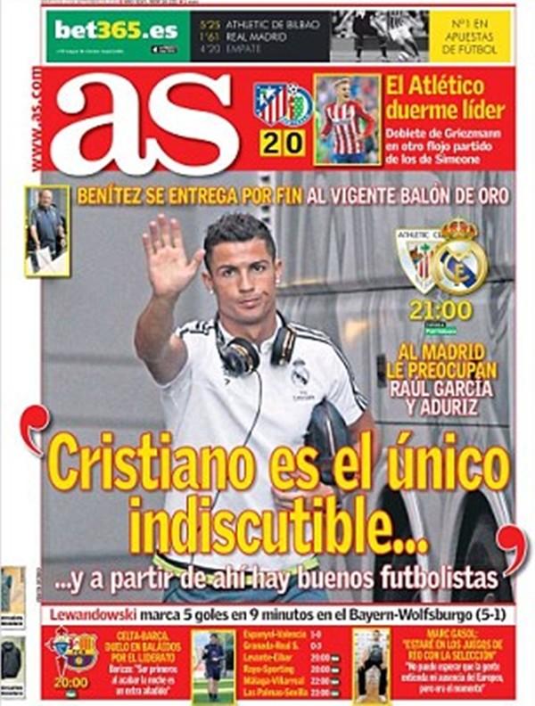 Chỉ có 1 cầu thủ bảo đảm vị trí chính thức tại Real Madrid