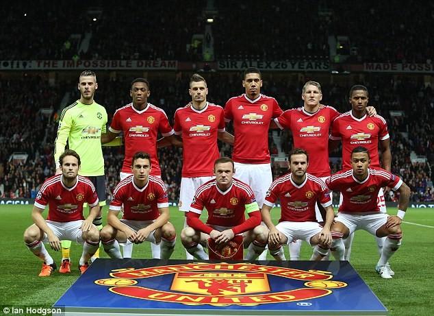 M.U là một trong các CLB có nhiều cầu thủ người Anh nhất ở Champions League năm nay