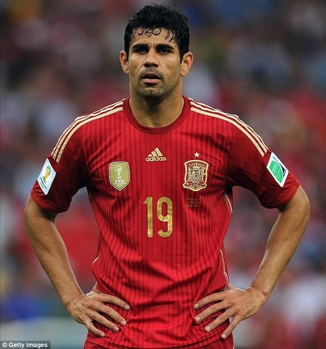 Costa trở lại đội tuyển Tây Ban Nha