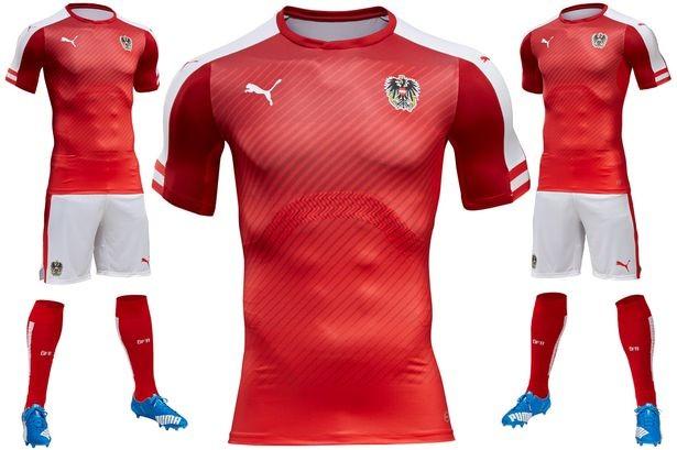 Lộ diện áo đấu mới của các ĐT tại VCK Euro 2016 ảnh 1