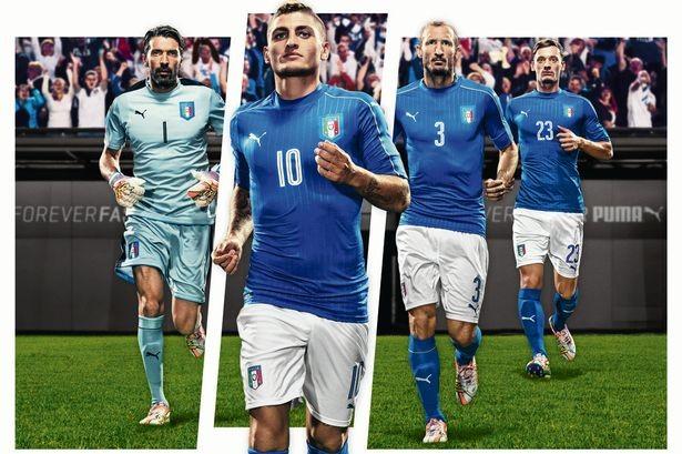 Lộ diện áo đấu mới của các ĐT tại VCK Euro 2016 ảnh 10