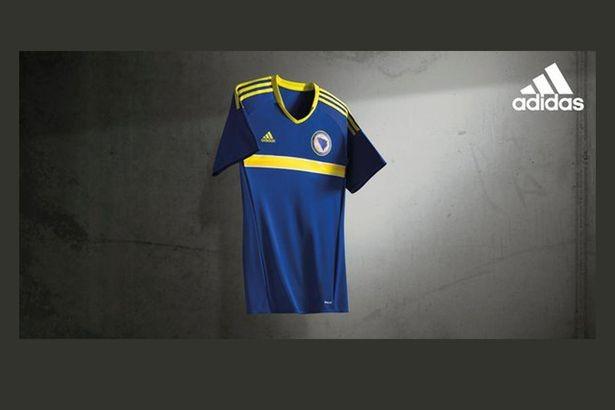 Lộ diện áo đấu mới của các ĐT tại VCK Euro 2016 ảnh 5