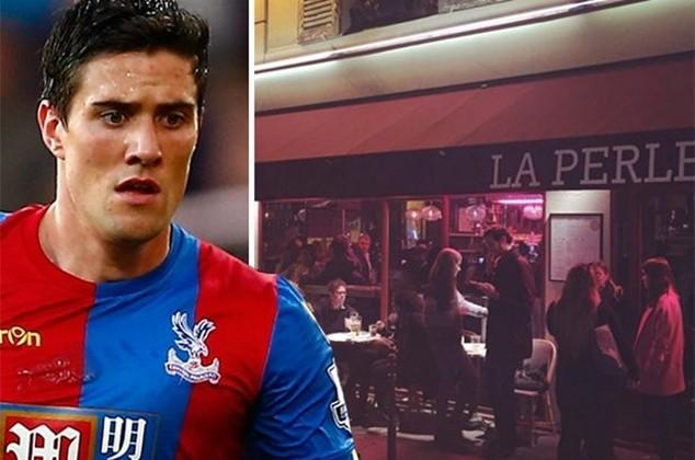 Kelly và nhà hàng cầu thủ này xuất hiện ở Paris