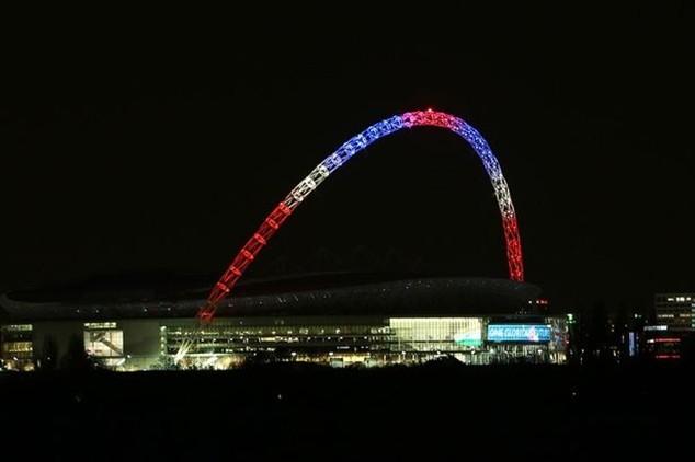 Trận giao hữu giữa Anh và Pháp trên sân Wembley vẫn diễn ra theo kế hoạch