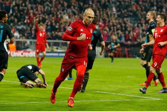 Robben đóng vai trò trụ cột trong lối chơi của Bayern những năm gần đây