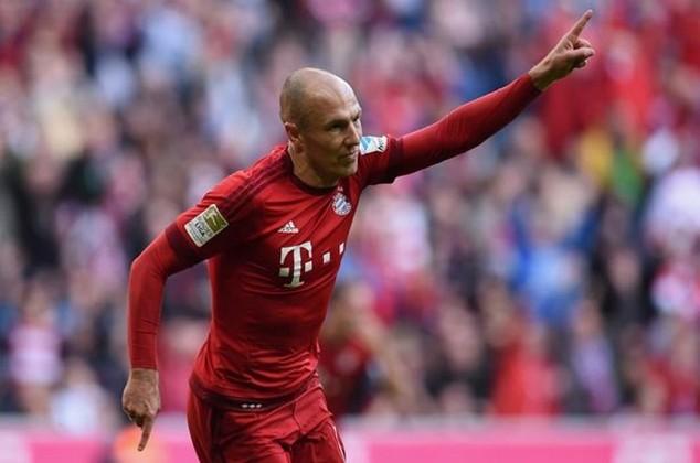 Robben đang gặp khó tại Bayern Munich