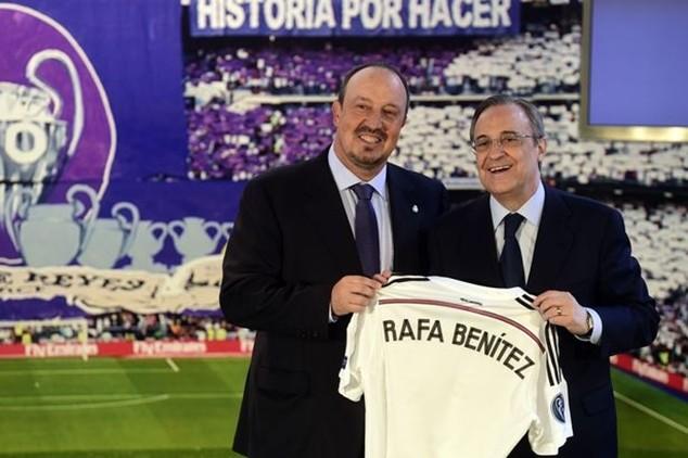 Rafael Benitez mới kế nhiệm Carlo Ancelotti dẫn dắt Real Madrid từ hồi mùa hè