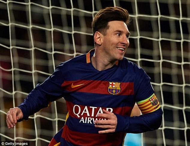 Messi xuất sắc nhất thế giới từ năm 2009 đến 2012