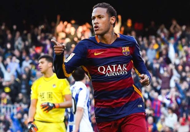 Neymar đi vào lịch sử La Liga