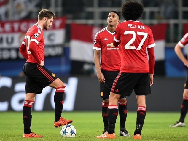 M.U ngậm ngùi chia tay Champions League