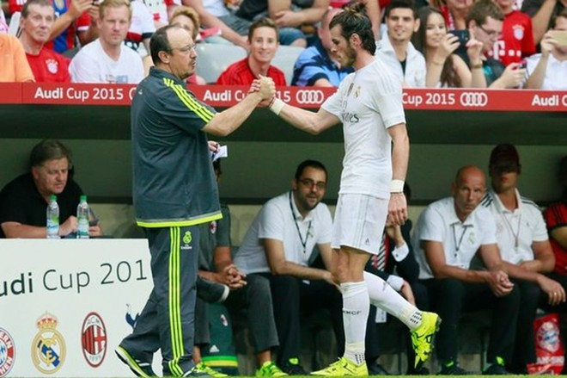 Bale từ chối nghe theo chỉ đạo của HLV Rafael Benitez