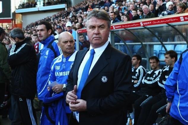 Hiddink sẽ dẫn dắt Chelsea đến cuối mùa giải năm nay