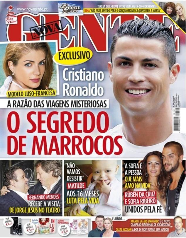Giới truyền thông đang đồn thổi về bạn gái mới của Ronaldo