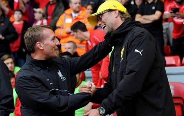 Thành tích của Liverpool dưới thời Klopp còn thua kém người tiền nhiệm Rodgers