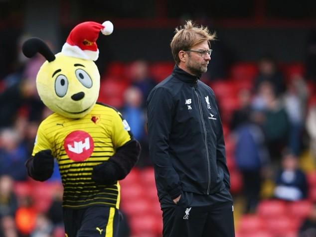 Klopp trải qua khoảnh khắc tồi tệ nhất kể từ lúc tới dẫn dắt Liverpool