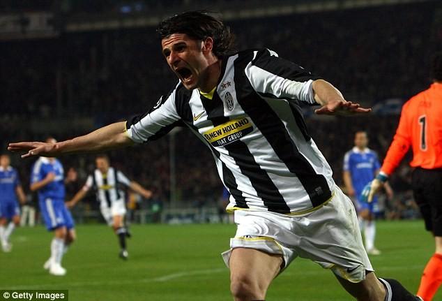 Iaquinta từng chơi cho Juventus