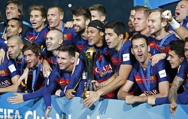 Barcelona dễ dàng đánh bại River Plate để đăng quang cúp các CLB vô địch thế giới