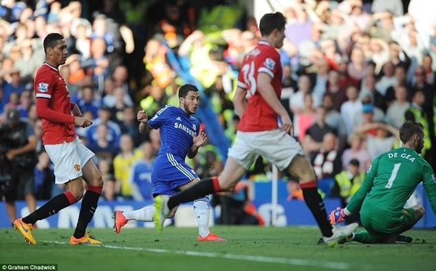 Chelsea vượt qua M.U 1-0 ở lần chạm trán gần đây