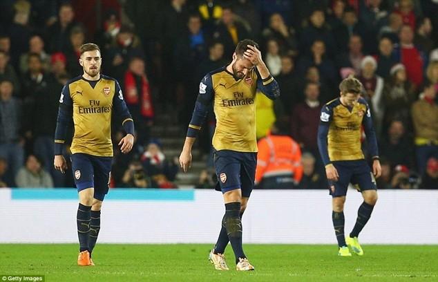 Arsenal phải đánh bại AFC Bournemouth nếu muốn nuôi hy vọng chạy đua tới chức vô địch