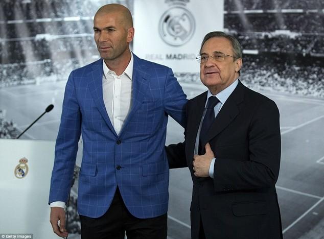 Real Madrid từng liên hệ với Pep Guardiola trước lúc bổ nhiệm Zidane thay Benitez