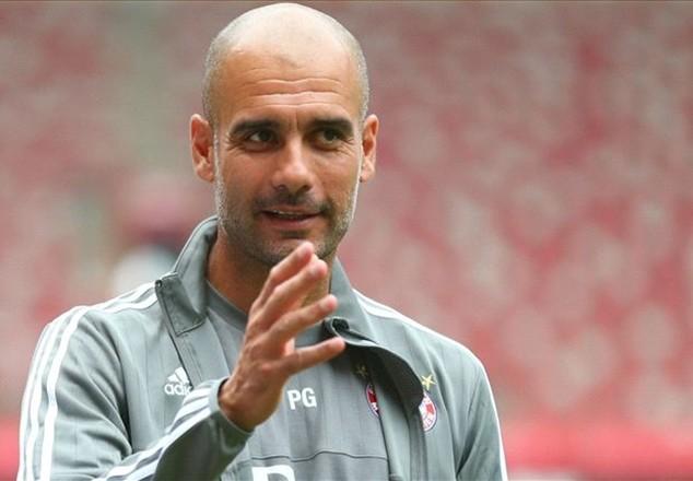 Huấn luyện viên Pep Guardiola công khai kế hoạch tới làm việc ở Premier League