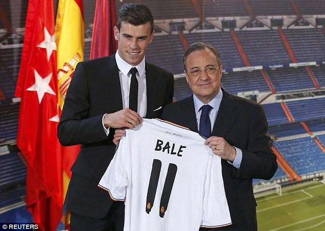 Chi phí mà Real Madrid phải trả cho Bale là 100 triệu euro
