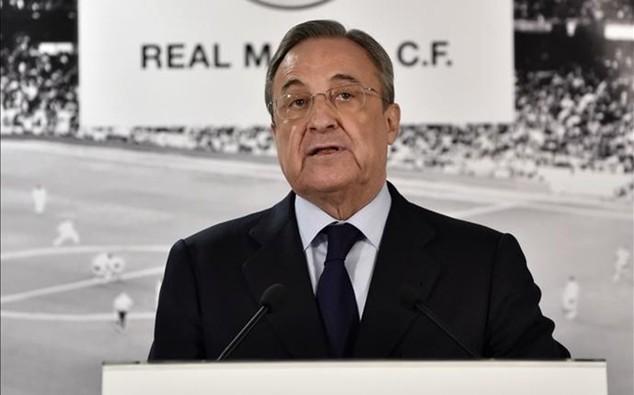Chủ tịch Real Madrid, Florentino Perez cân nhắc từ chức