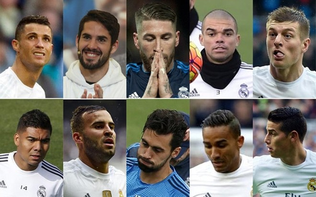 Ronaldo và Ramos có tên trong danh sách 10 cầu thủ sắp bị đẩy khỏi Bernabeu