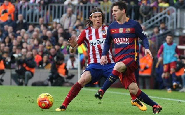 Messi đã ghi 25 bàn thắng vào lưới Atletico Madrid